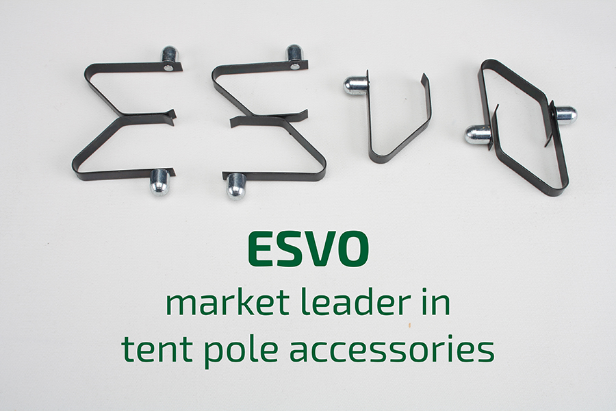 spring button clips per piece  sc 1 st  ESVO Tenten & Tent pole replacement parts and spring button clips by piece