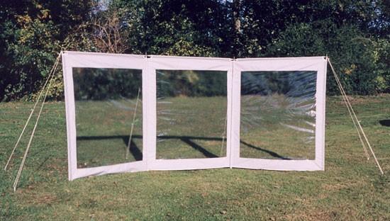 Esvo wind und sichtschutz mit fenster for Fenster 3 teilig