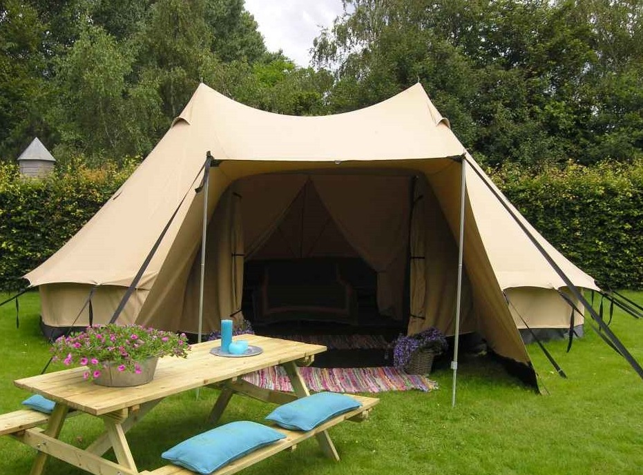 & Two pole Berber tipi tent