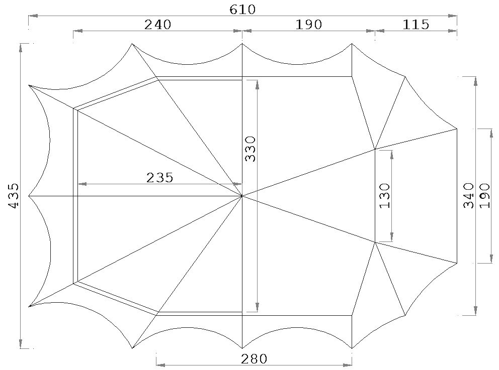 ... Pyramid tent Bedouin 340 with sewn in ground sheet  sc 1 st  ESVO Tenten & Pyramid tent cotton Beduin 340