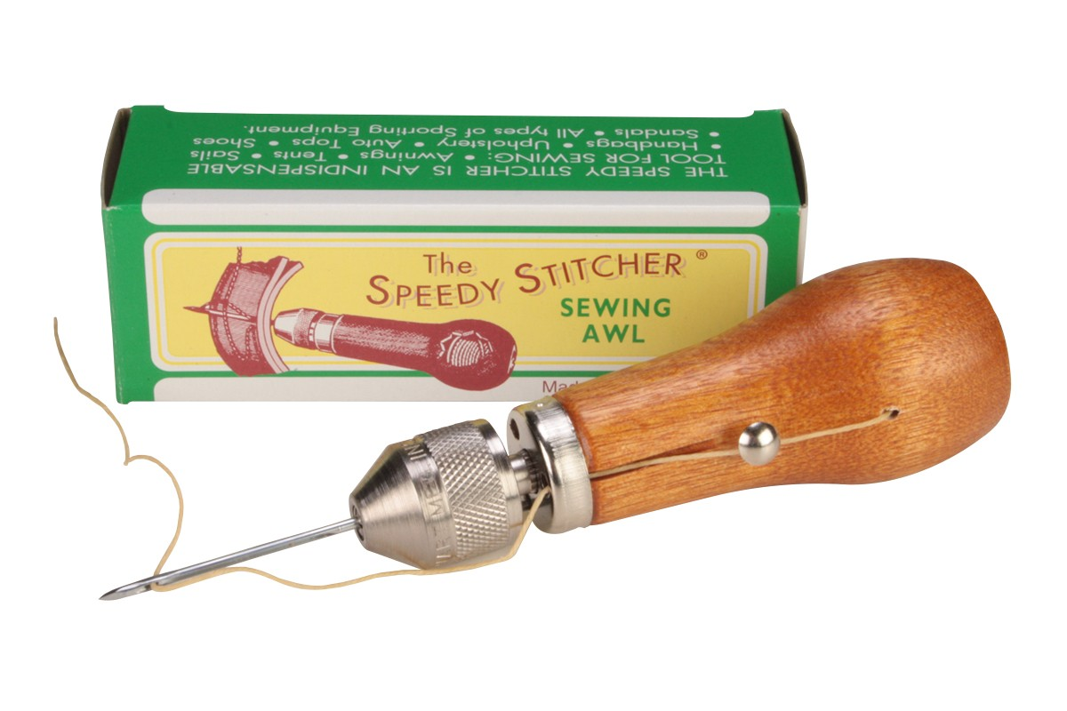 Speedy Stitcher  Sewing awl repair tool kit