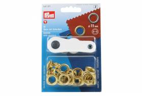 Set eyelets with washers 11 mm