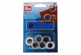 Set eyelets with washers 14 mm