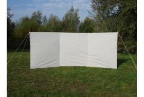 "ESVO windbreaks in  Ten Cate All-season tentfabric ""TYPHOON"""
