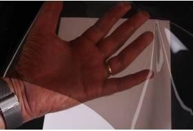 Doorzichtig plastic folie 'smoke' 0,40 mm, 140 cm