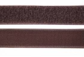 Velcro tape 16 mm, brown