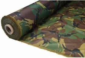 Tent fabric lightweight ripstop nylon 80 gr/m² 150 cm, camouflage