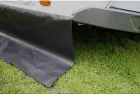 Tochtstrook op maat heavy duty 65 cm, zwart