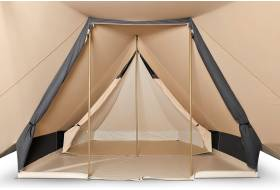Cotton pyramid tent Bedouin 300 with sewn in groundsheet