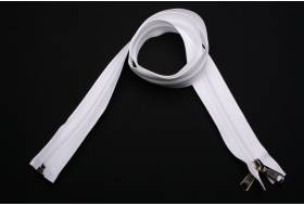 YKK zip-fastener 10 mm with open end white