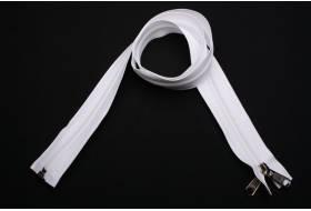 YKK zip-fastener 10 mm with open end white