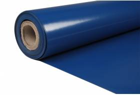 Grondzeil bisonyl blauw RAL 5002 250 cm, 650 gr/m²