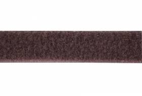 Klettband 16 mm braun, weiche Seite, Flausch