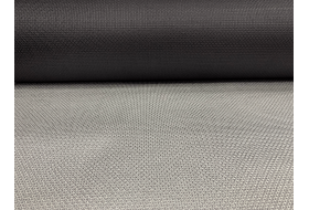 Binnenzonwering screendoek silver / black 150 x 239 cm