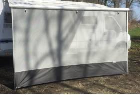 Sunblocker voor Fiamma en Omnistor grijs 190 x 380 cm