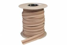 YKK ritsband 10 mm niet deelbaar, beige