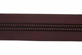 YKK rits 10 mm 2-weg niet deelbaar bruin