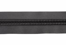 YKK ritsband 10 mm niet deelbaar, grijs