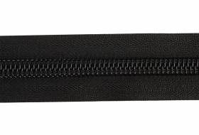 YKK ritsband 10 mm niet deelbaar, zwart