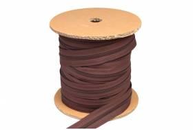 YKK ritsband 6 mm niet deelbaar, bruin