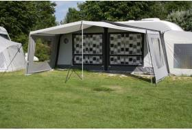 Sun canopy de Luxe for the awning, with sidewalls