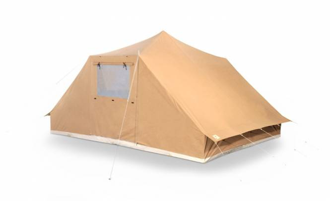 Group tent Tramp with sewn in groundsheet