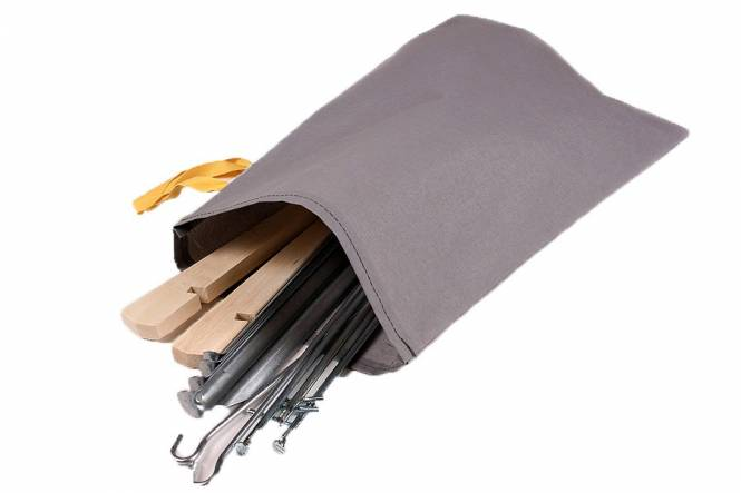 bag for tent pegs