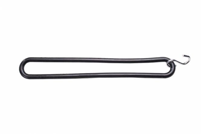 Spanelastiek TIR carrosserie rubber 20 cm met s-haak