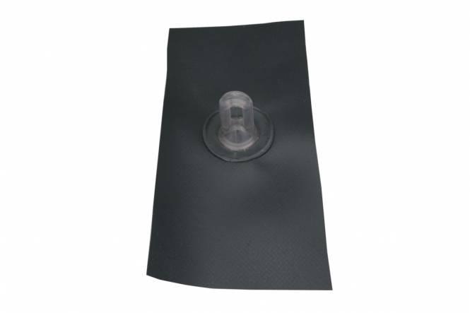 Sealed eyelet straight for groundsheet, charcoal