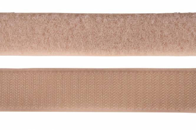 Velcro tape 20 mm, beige