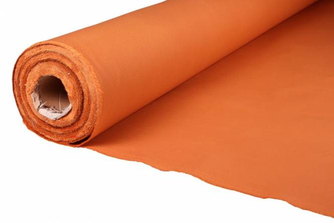 Tent fabric cotton 310 gr/m², KD-48 dark orange 70105