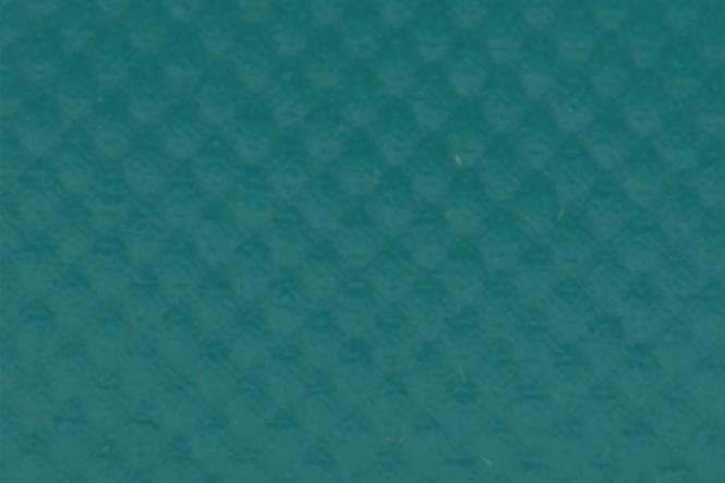 Ground sheet polyester reinforced PVC green RAL 6026 250 cm, 650 gr/m²