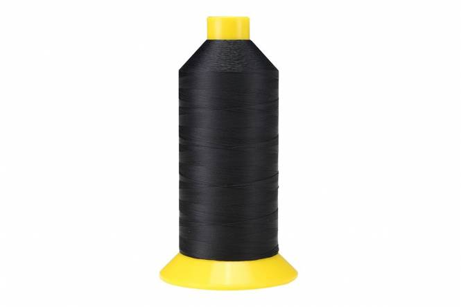 AMANN Naaigaren polyester, dikte 40, 4600 meter, zwart