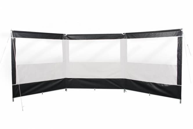 ESVO PREMIUM. PVC windscherm met aluminium stokken