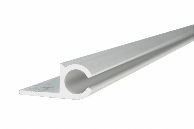 Railprofiel aluminium in diverse lengtes RESTSTUKKEN