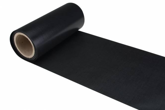 Slikrand 450 grams Bisonyl 25 cm, zwart