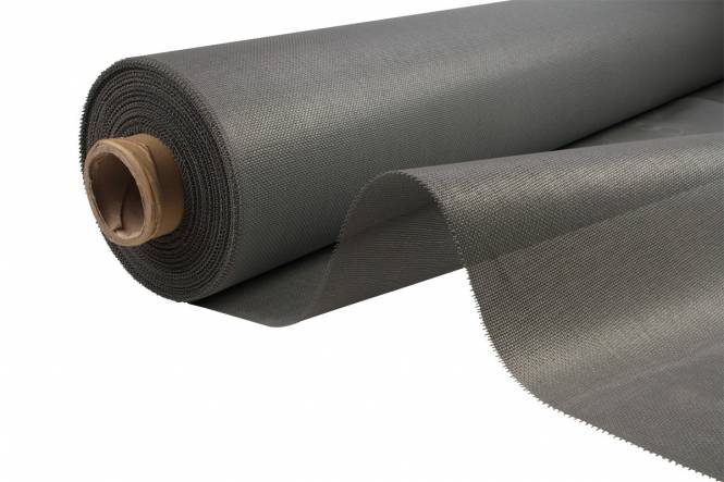 PVC Mesh 210 cm, grey