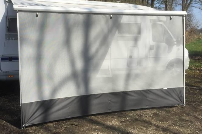 Sunblocker voor Fiamma en Omnistor grijs 190 x 330 cm