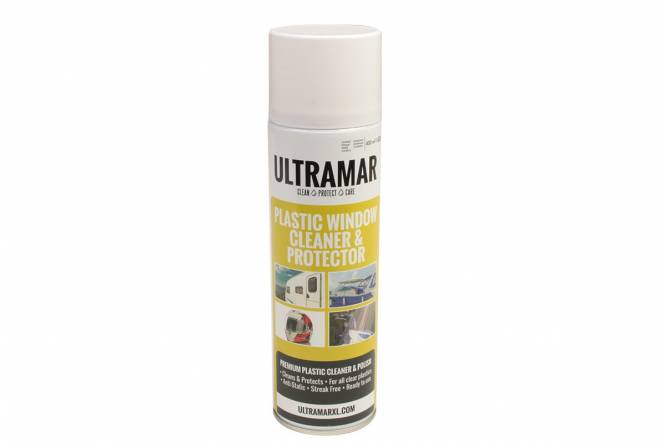 Ultramar Premium Plastic Cleaner & Polish, 400 ml