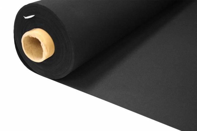 Bootdoek. Bootacryl 152 cm, zwart 6032